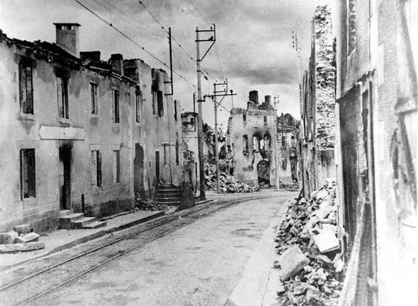 The French Village Of Oradour Sur Glane That Was The Nazis