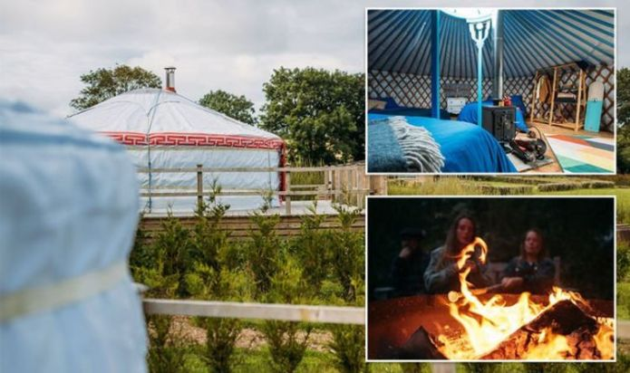Glamping at The Fir Hill: A bohemian take on camping nestled in the Cornish countryside