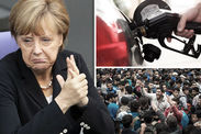 Refugee centre life German workers story of harassment  World  News  Expresscouk