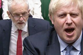 Boris urges 'people power' to FORCE election after Corbyn's extraordinary act of cowardice