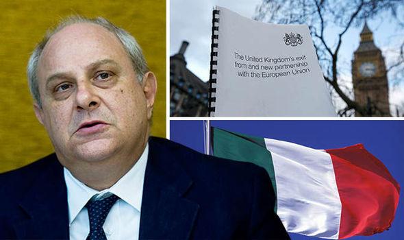 Italian deputy Foreign Minister Mario Giro