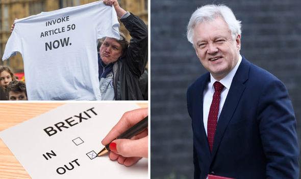 Brexiteer David Davis