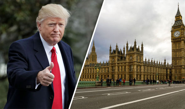 A growing number of MPs oppose Donald Trump speaking in the Houses of Parliament