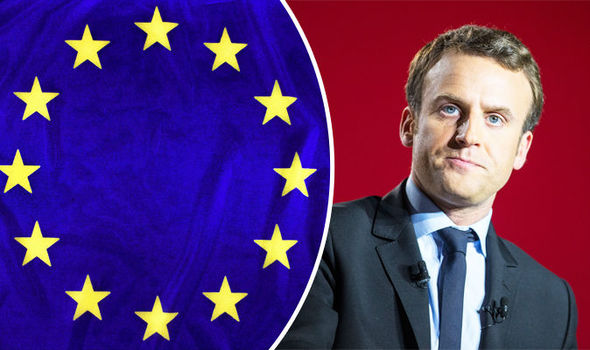 Image result for Macron Mr. Europe