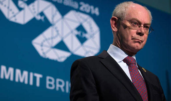 Herman Van Rompuy speaking in Australia