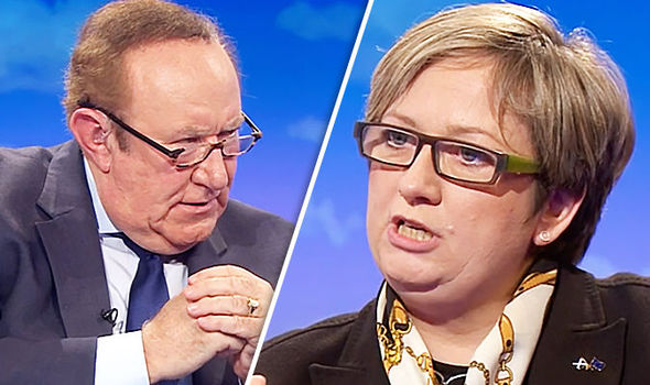 Andrew Neil and Joanna Cherry