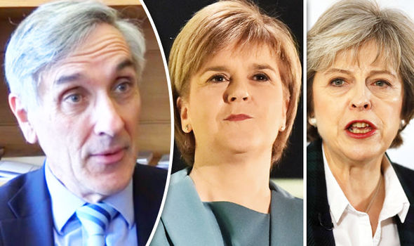 John Redwood, Nicola Sturgeon and Theresa May