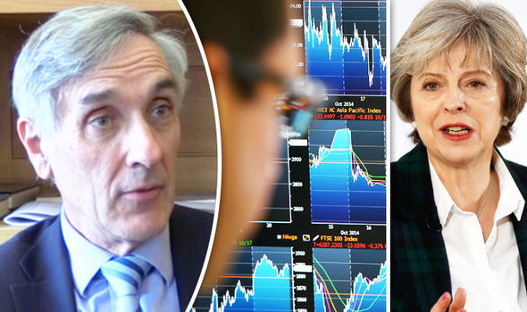 John Redwood and Theresa May