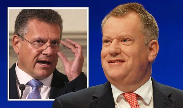 Lord David Frost Maros Sefcovic