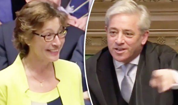 MP Questions John Bercow About His Shower Routine In
