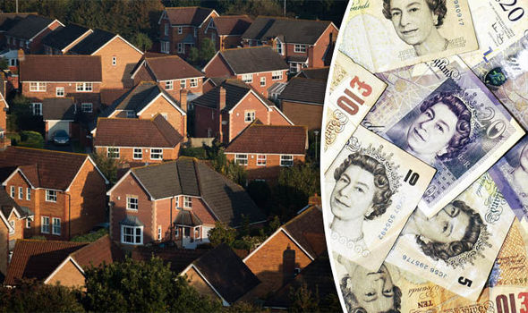 Homes in England and UK money