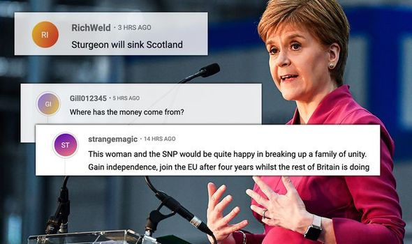 Nicola Sturgeon's independence campaign rally has sparked fury