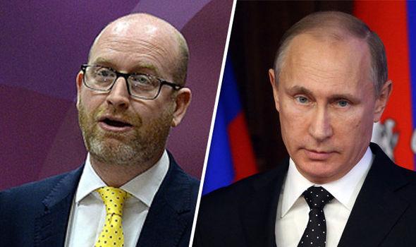 Nuttall and Putin