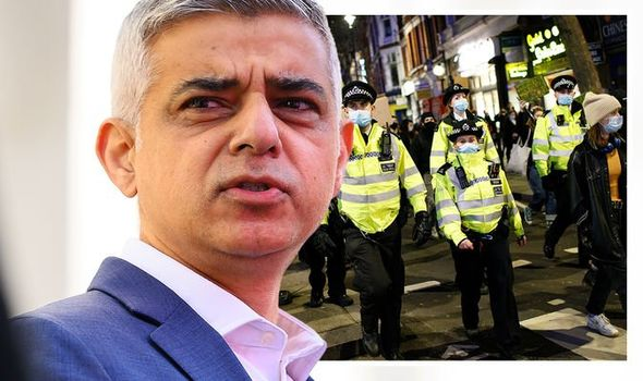 Sadiq Khan's response to the vigil has been criticised