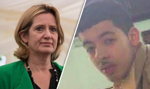 Amber Rudd and Salman Abedi