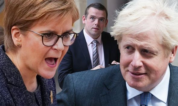 The SNP has been lambasted over its criticism of the Internal Market Bill