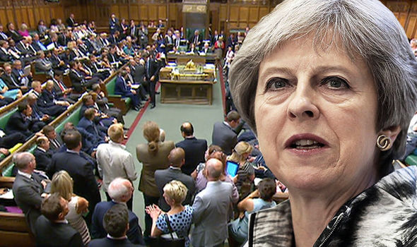 Theresa May is facing another showdown in the lower house today