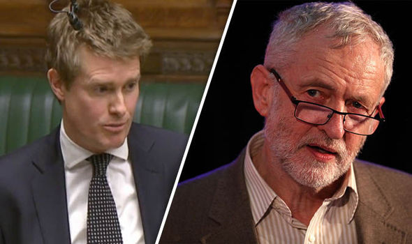 Tristram Hunt and Jeremy Corbyn