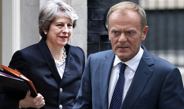 Donald Tusk is keen on a trade deal