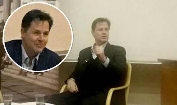 Nick Clegg focussed his anger at Brexit supporters and Blitz survivors
