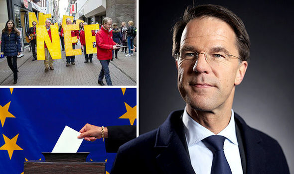 No voters during last year's Dutch referendum
