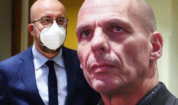 EU news Charles Michel Yanis Varoufakis