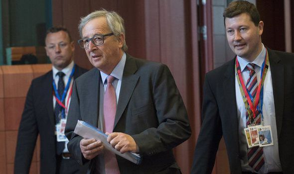 Jean-Claude Juncker and his right-hand man Martin Selmayr
