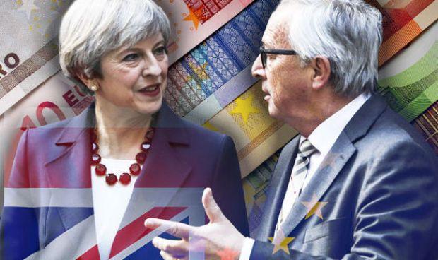 Theresa May met with Jean-Claude Juncker this week