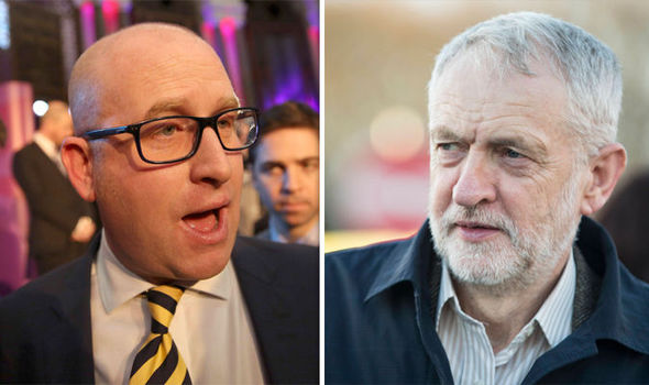 Ukip's Paul Nuttall took aim at Jeremy Corbyn as he prepares for the Stoke by-election