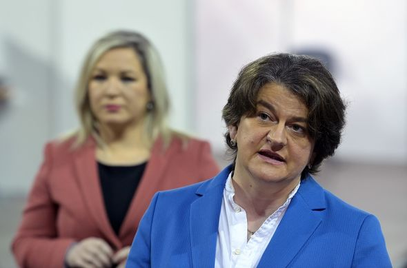 Arlene Foster will join the meeting today