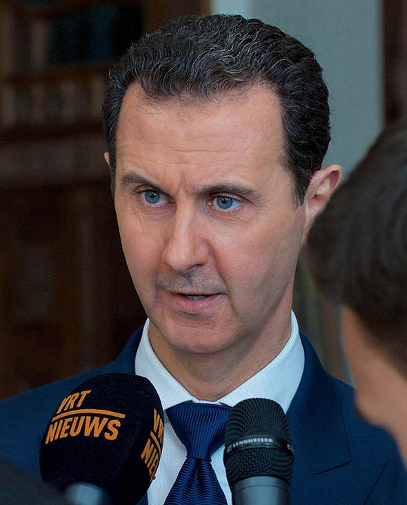 President Bashar al-Assad speaks to Belgian media