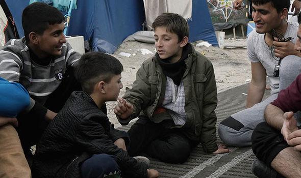 Calais child refugees