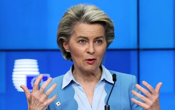 EU Commission chief Ursula von der Leyen