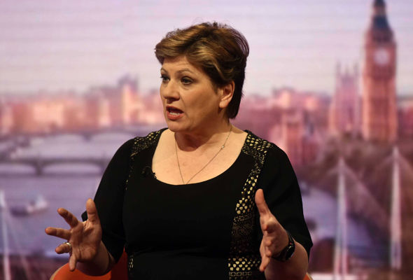 "Shadow foreign secretary Emily Thornberry said Labour would ""not frustrate Brexit"""