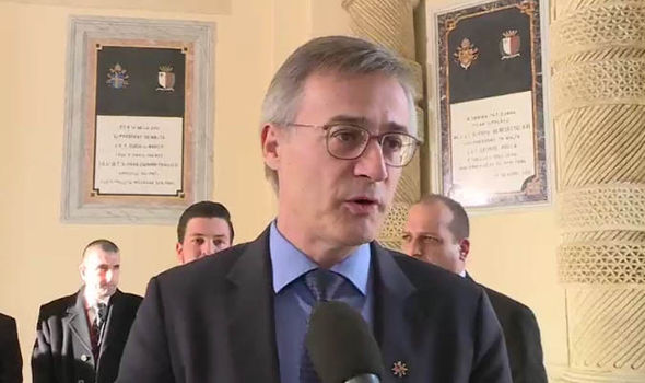Luxembourg's justice minister Felix Braz