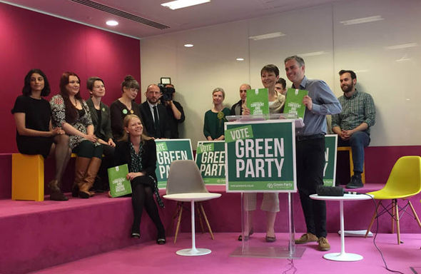 Caroline Lucas launches manifesto