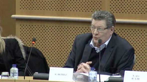 Belgian MEP Gérard Deprez