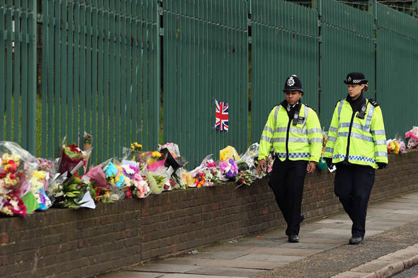 Flowers for Lee Rigby