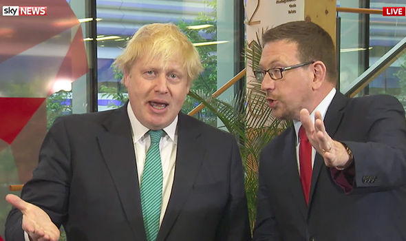 Boris Johnson and Andrew Gwynne