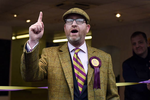 Paul Nuttall pointing finger