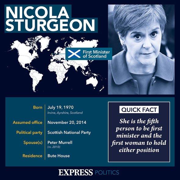 Nicola Sturgeon profile