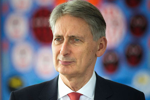 Philip Hammond looks confused