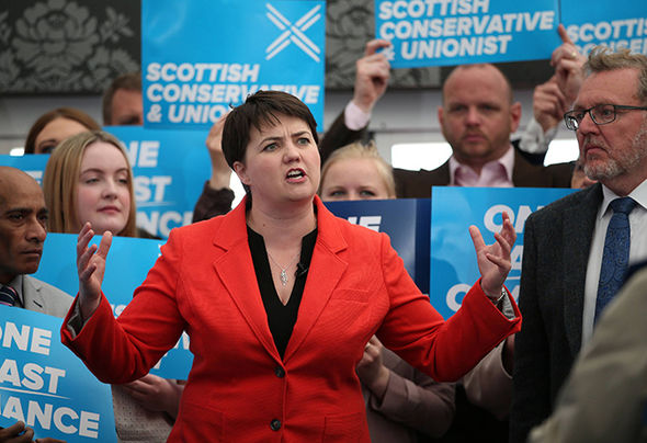 Ruth Davidson delivered an impassioned speech