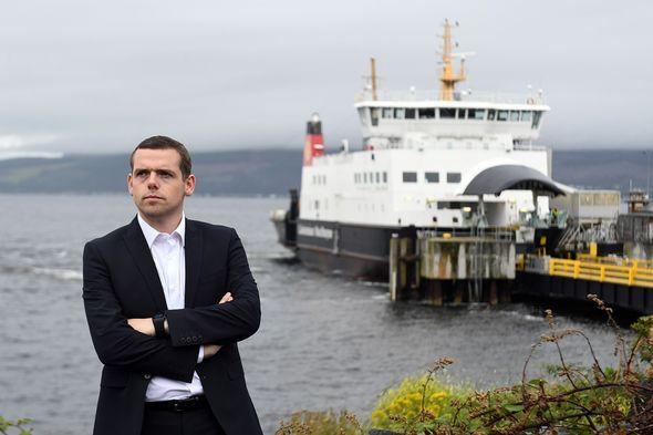 Scottish Tory leader Douglas Ross