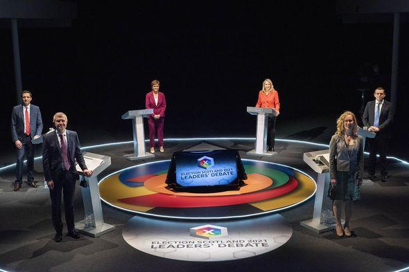 Scottish leaders had their first debate last week