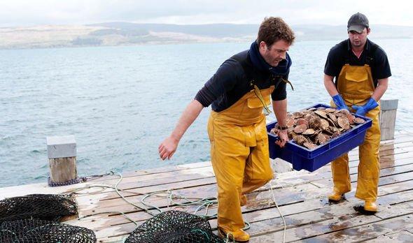 Shellfish exports