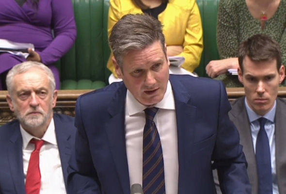 Shadow Brexit secretary Sir Keir Starmer urged Labour MPs to respect the referendum result