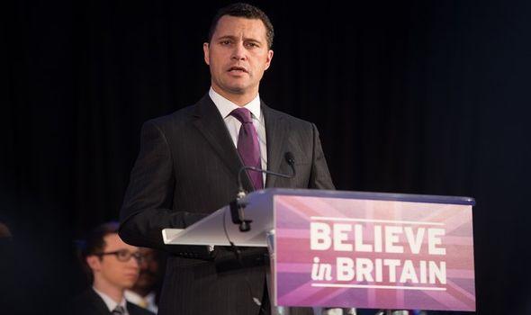British MEP Steven Woolfe