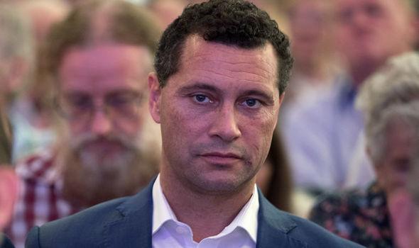 Former Ukip MEP Steven Woolfe
