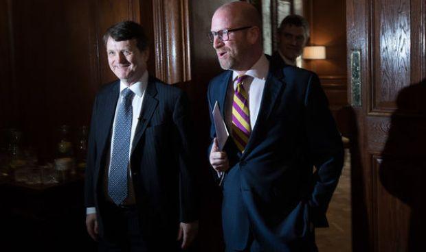 Gerard Batten and Paul Nuttall